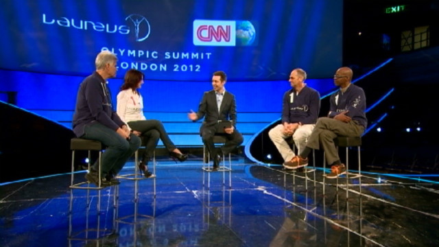 Olympic legends reflect on their success