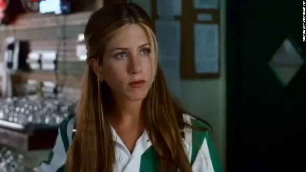 "Aniston received critical acclaim for her role in ""Office Space."" In the film she plays Joanna, a waitress who is frustrated with her job and the restaurant's management."