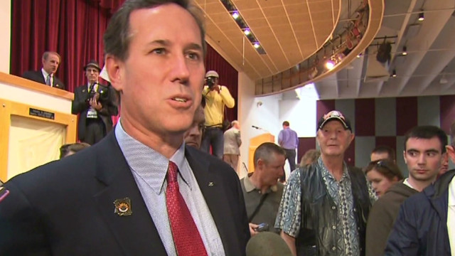 Santorum: 'I believe in good and evil'