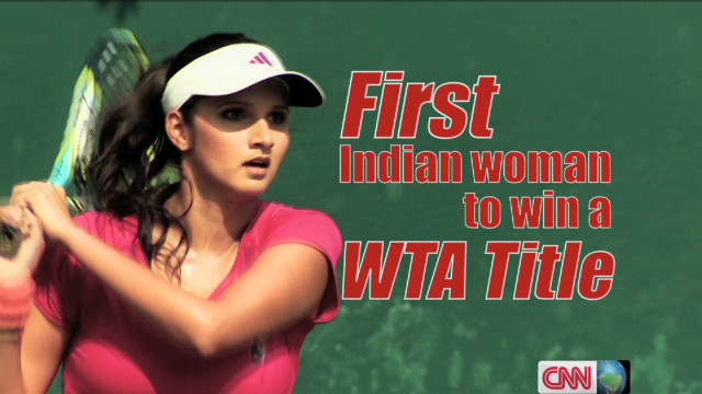 Sania Mirza tackles tennis obstacles