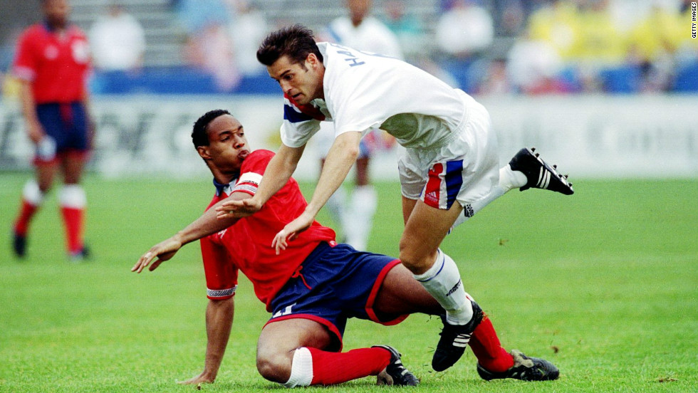 Midfielder Paul Ince built on the legacy of players like Cunningham and Anderson in 1993, when he became the first black player to captain England in a 2-0 friendly defeat against the U.S. In a career where he played for Manchester United, Liverpool and Inter Milan, he collected two league titles and a European Cup Winners' Cup medal.