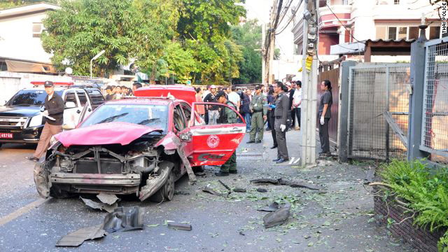 Authorities in Thailand have said the Bangkok bombings were intended for Israeli diplomats.