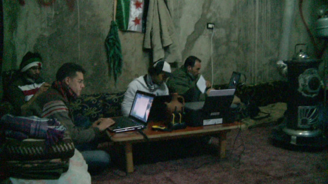 Syria media rebels lead Web revolution