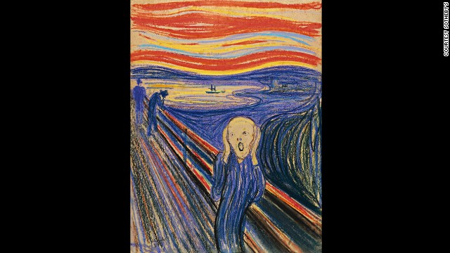 Edvard Munch's The Scream (1895), which is to be sold at Sotheby's in New York on May 2, 2012.