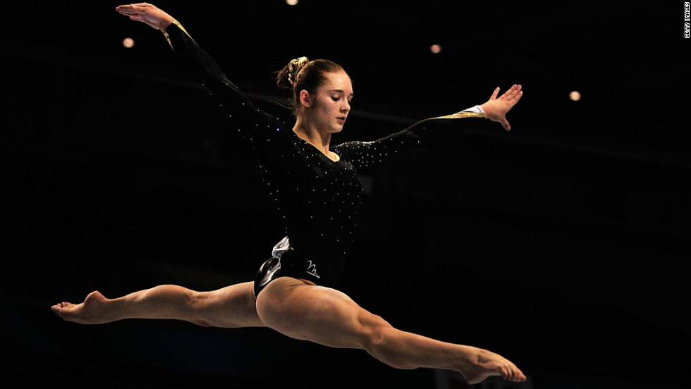 Pinches, who turns 18 in May, helped the Great Britain come fifth in the 2011 World Artistic Gymnastics Championships -- the team's highest finish so far.