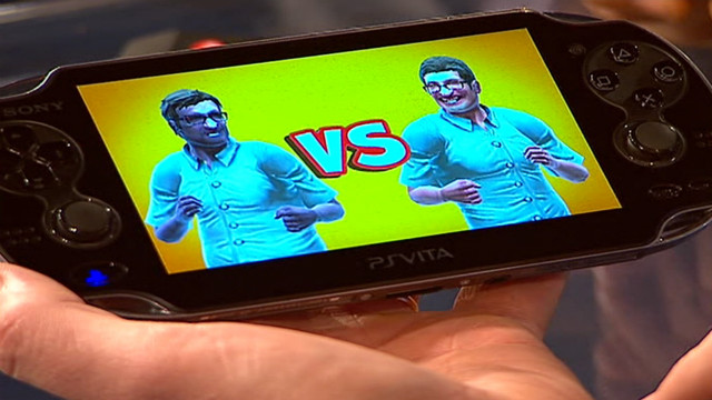 Test driving the Sony games console