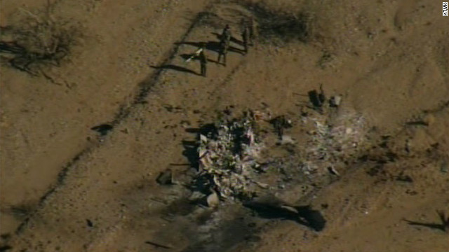 Helicopter crash aftermath revealed