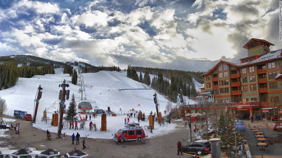 Copper Mountain offers 2,433 acres of terrain, a new high-speed quad-lift and ski-in ski-out lodging.