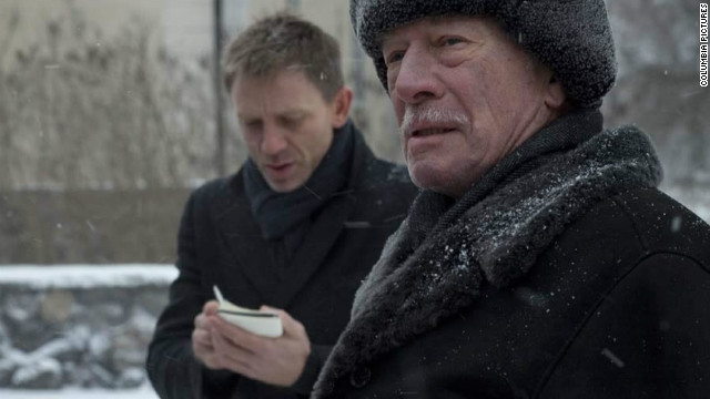 "Daniel Craig and Christopher Plummer star in ""The Girl With the Dragon Tattoo."""