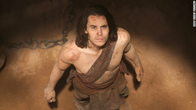"Taylor Kitsch stars in ""John Carter."""