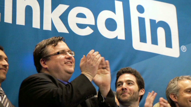 LinkedIn co-founder's investment tactics