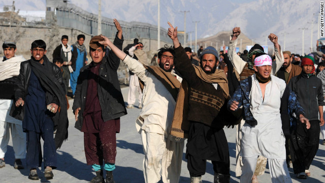 Deaths, injuries in Afghanistan protests