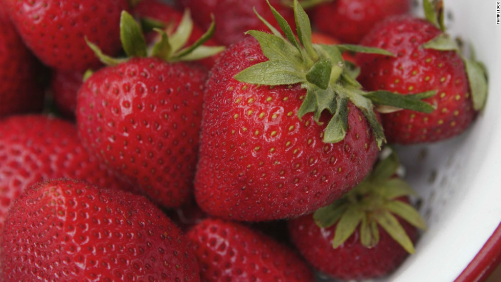Strawberries are loaded with antioxidants that help your skin repair damage caused by environmental factors like pollution and UV rays.