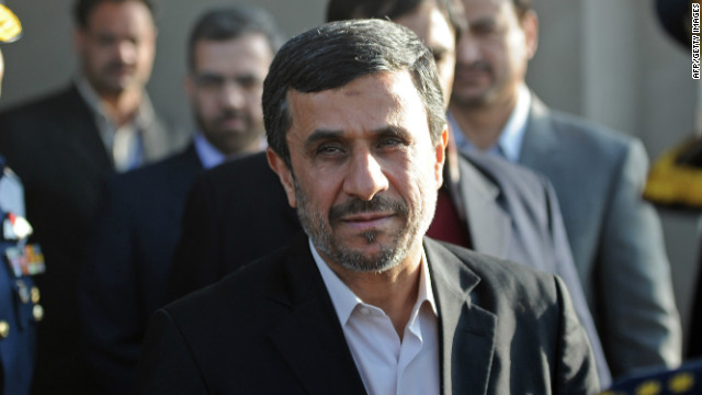 Iranian President Mahmoud Ahmadinejad is now little more than a figurehead, Jim Walsh says.