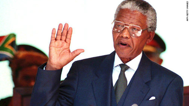 1994: Mandela's inauguration speech