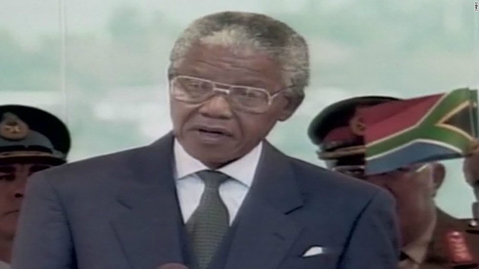 nelson mandela inauguration speech analysis The purpose of this communication is to look at mandela's effectiveness in his inaugural speech, which occurred may 10th, 1994 in pretoria, through both the written speech as well as his presentation of that speech .
