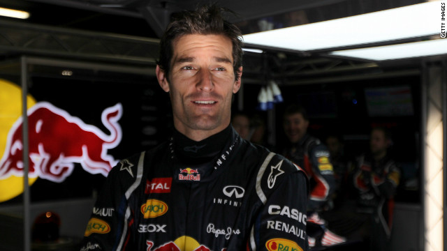 Australian driver Mark Webber has been with the Britain-based Red Bull team for five seasons.