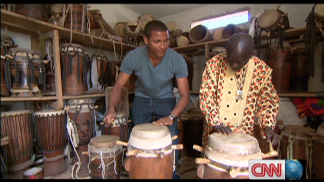 The master of Senegalese drumming