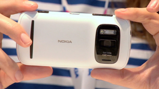 41 megapixel camera on new Nokia phone