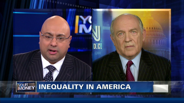 Decline in values to blame for inequality?