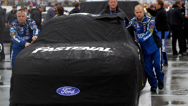 Daytona 500 washed out