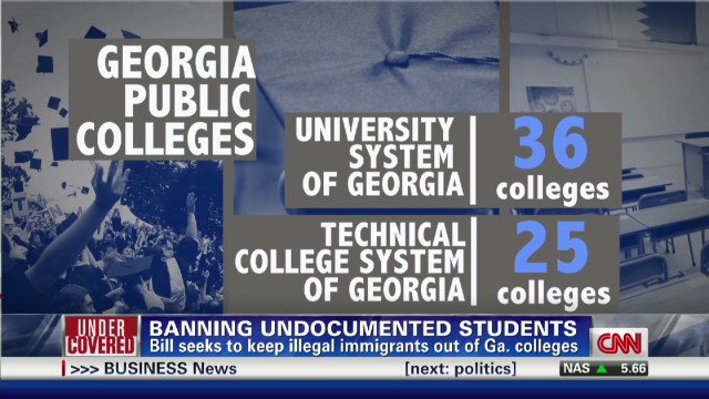 exp Bill Proposes To Ban Illegal Immigrants from Georgia Public Colleges_00002001