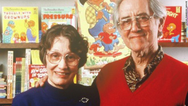 "Jan Berenstain authored and illustrated ""The Berenstain Bears"" books with her husband, Stan."