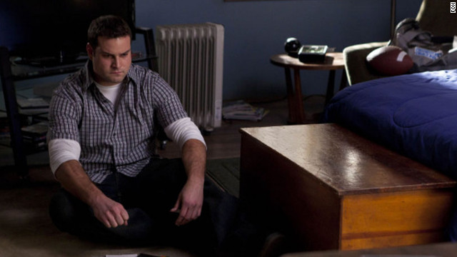 "Karofsky (Max Adler) was featured on ""Glee's"" winter finale."