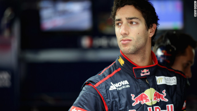 Daniel Ricciardo has landed the coveted No.2 seat at Red Bull behind Sebastian Vettel.