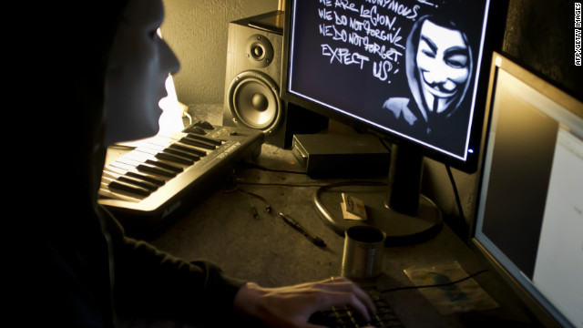 Anonymous has been involved in some of the most high-profile cyberattacks on the Web. (File)