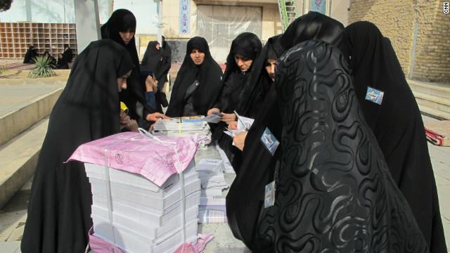 Iranians urged to vote as 'national duty'