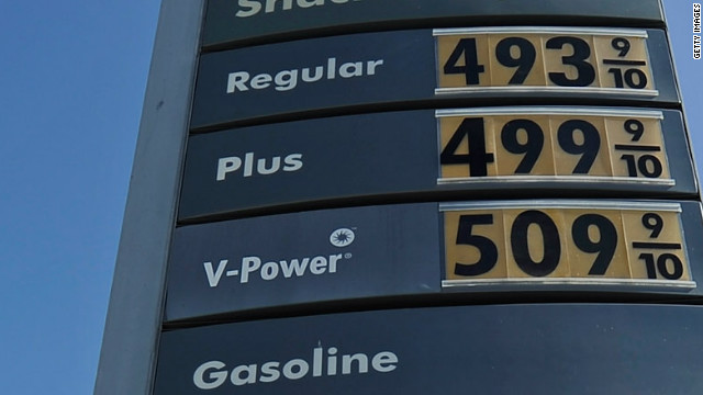 Ruben Navarrette says Californians are used to paying a lot for gas. This station in Los Angeles sells gas for nearly $5 a gallon.