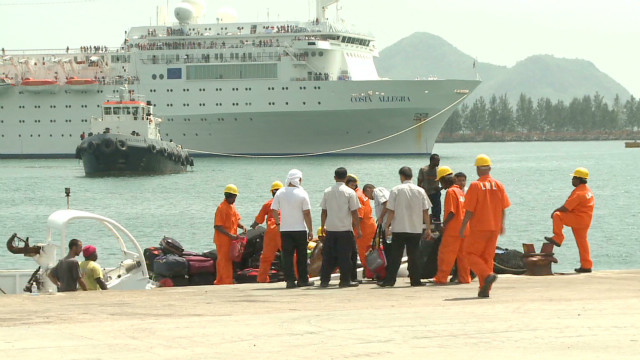 Disabled Allegra towed into Seychelles