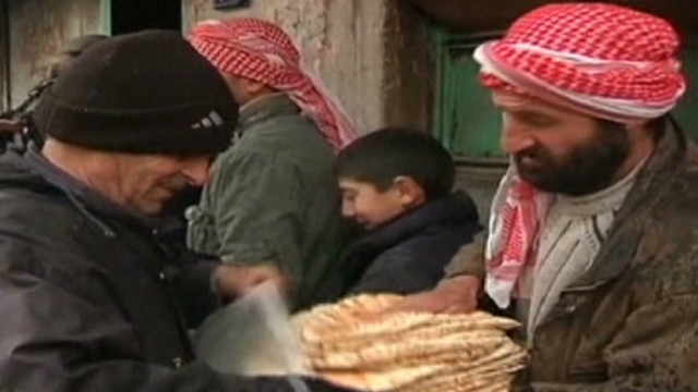 Homs resident: 'Trying to stay alive'