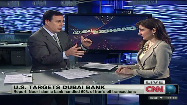 U.S. targets Dubai bank over Iran ties