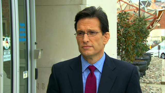 Cantor: Romney will help ailing economy