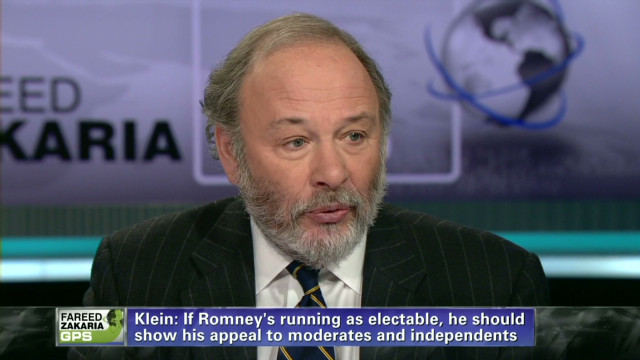 Joe Klein on Mitt Romney