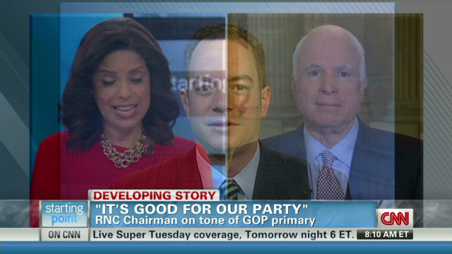 McCain: 2012 race tenor is the problem