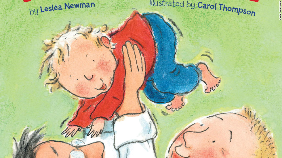 Leslea Newman's book covers the basics of a child's life with two dads.