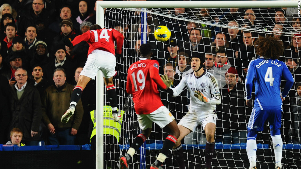 Chelsea looked set for another Stamford Bridge win over one of the Manchester clubs when they took a 3-0 lead against reigning champions United with just 40 minutes left. But United fought back, with Javier Hernandez scoring the equalizer to earn Alex Ferguson's team a 3-3 draw in February.
