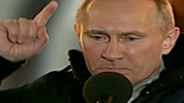 Putin wins election amid fraud claims