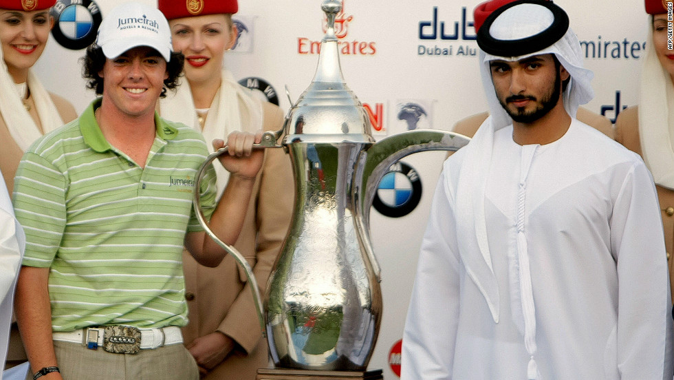 Three months before his 20th birthday, McIlroy claimed his first European Tour title winning the Dubai Desert Classic in February 2009, beating England's Justin Rose by a single shot.