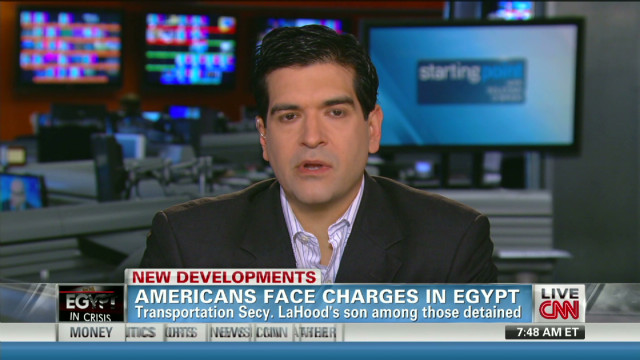 Sam LaHood discusses experience in Egypt
