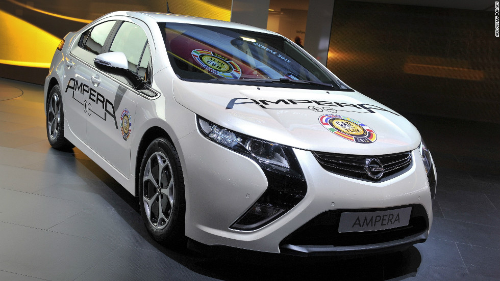 "The Opel Ampera was awarded  ""Car of the Year 2012"" by a selection of motor journalists from 23 countries."