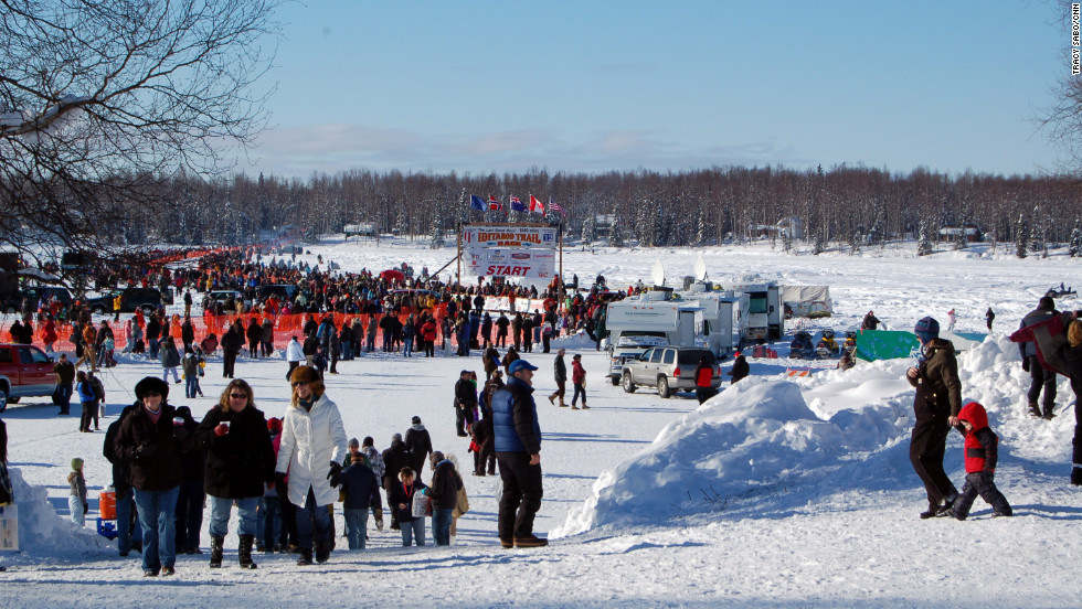 More than 60 teams are now headed north to Nome, Alaska, in hopes of becoming the 2012 Iditarod champion.