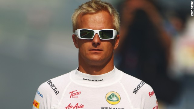 Finnish driver Heikki Kovalainen has spent three of his six years in F1 with the Caterham team.
