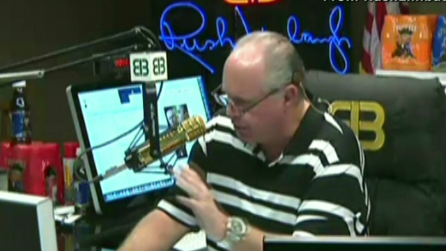 Rush Limbaugh's apology spin