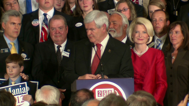 Gingrich: 'I'm the tortoise'