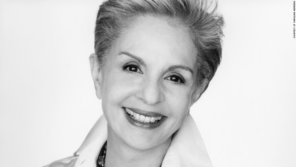 Fashion designer Carolina Herrera says the key to building a successful brand is separating the creative side from the business side.