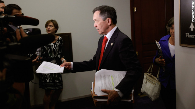 Rep. Dennis Kucinich, D-Ohio, is pictured on Capitol Hill in this file photo.